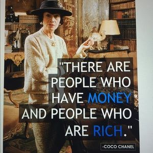 """Other - """"Coco Chanel Quote"""""""